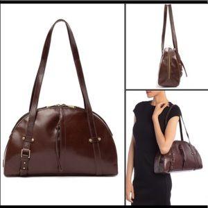 Hobo – Beckon Leather Shoulder Bag, Espresso, NWT